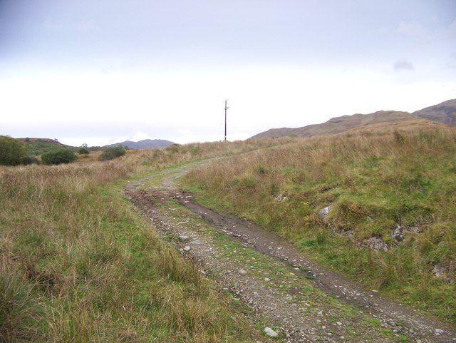 Track to the Sheep Fold above Loch Creran