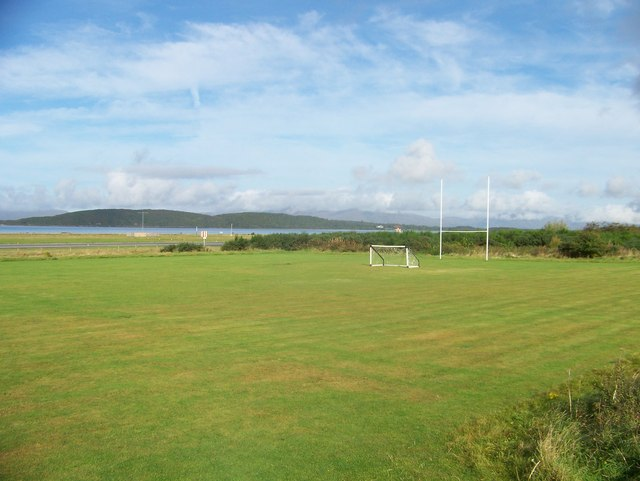 Playing fields at North Connel