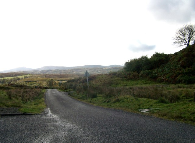 Unclassified road south of Connel