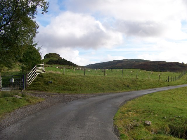 Minor road from Kilmore to Taynuilt at Dun-Neil