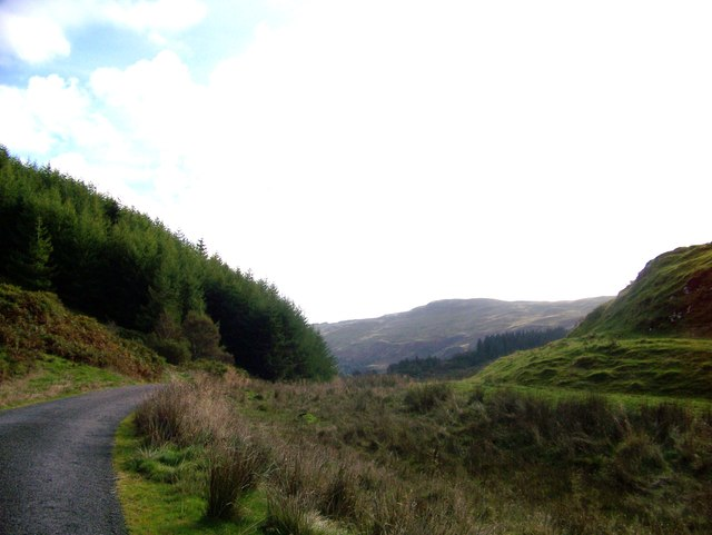 Minor road from Kilmore to Taynuilt