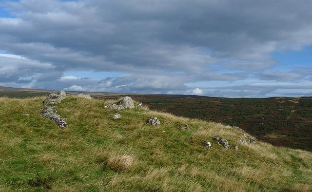 Kerb cairn, Caolas township, Sutherland