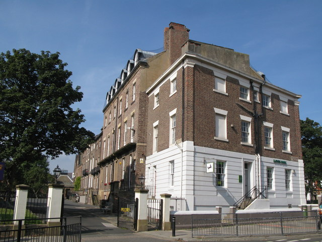 (The rear of) Huntingdon Place, NE30