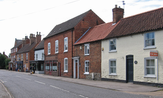 Collingham - west side of High Street