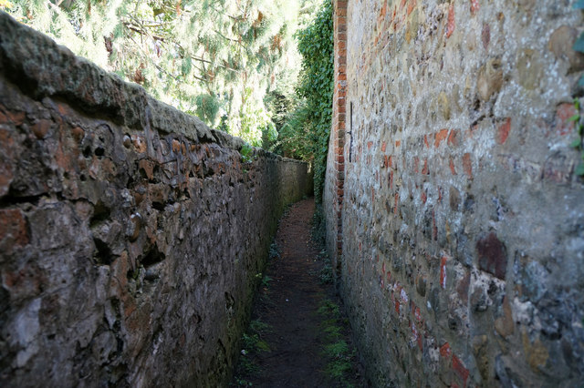 Path from Main Street to Church Field Lane, Great Ouseburn