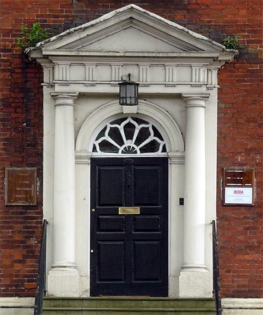 Detail of 99 Friar Gate, Derby