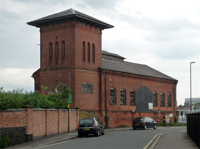 Former engine house, Great Northern Road, Derby