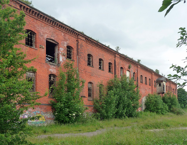 Former railway warehouse, Great Northern Road, Derby