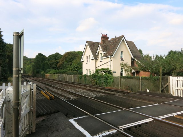 House at a Rail Crossing