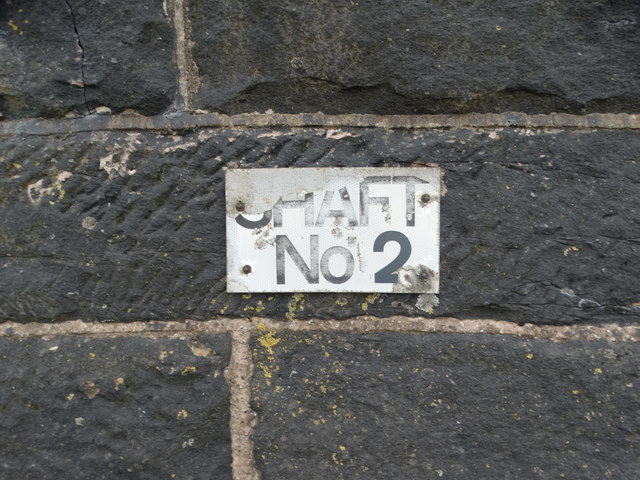 Cowburn Tunnel Air Shaft No 2 sign