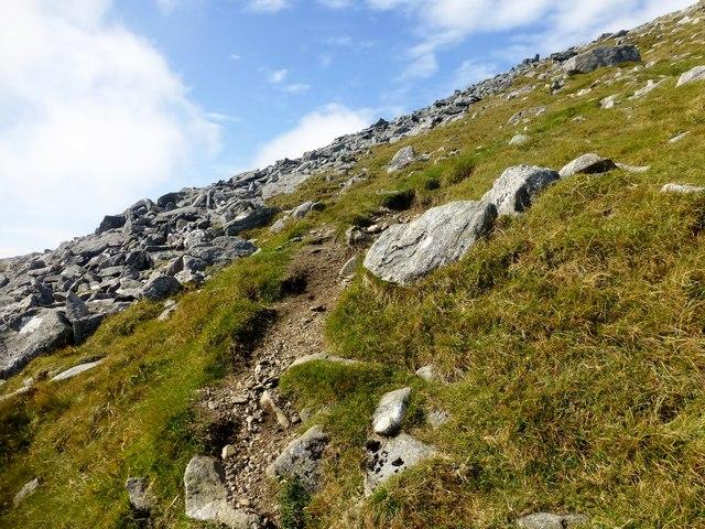 Bit Of A Path En Route To An Cliseam