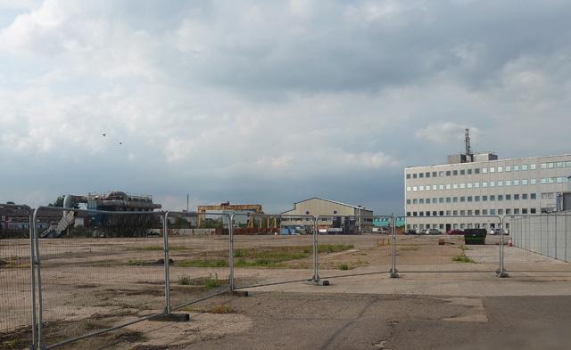 Derelict land, Litchurch Lane, Derby