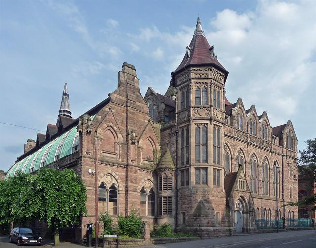 Former College of Art Annexe, Green Lane, Derby