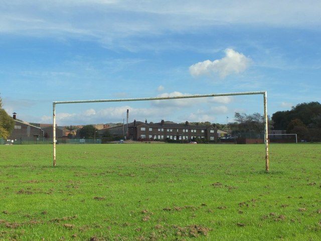 Playing fields near Chequer
