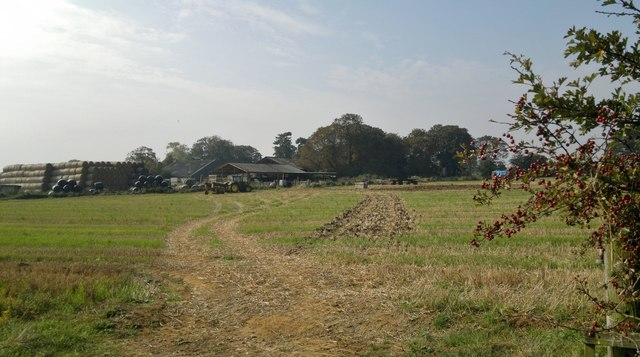 Farm buildings on Nettleham Heath