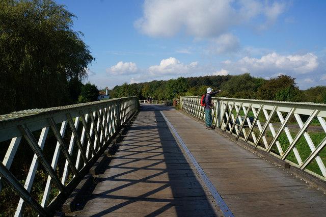 Aldwark Toll Bridge over the River Ure