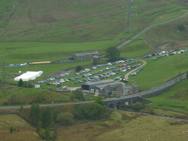 The Rab Mountain Marathon at Huck's Bridge