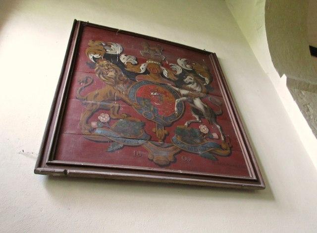 Royal Coat of Arms - Sutton Montis Church