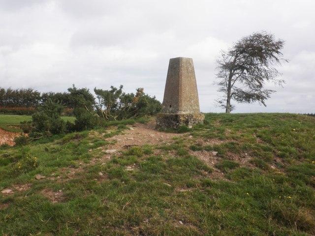 Trig Point at Elworthy Barrows