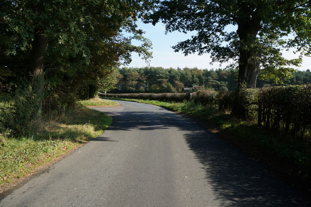 Minor Road near Hollin Hill