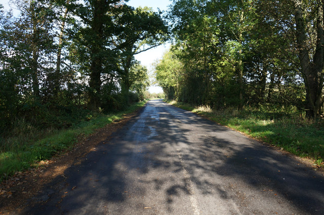 Road leading to Aldwark