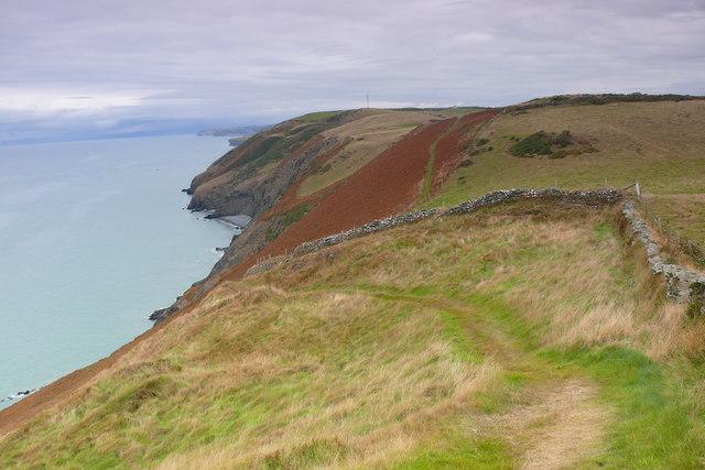 Arfordir Ceredigion ger Llanrhystud / Ceredigion Coast near Llanrhystud