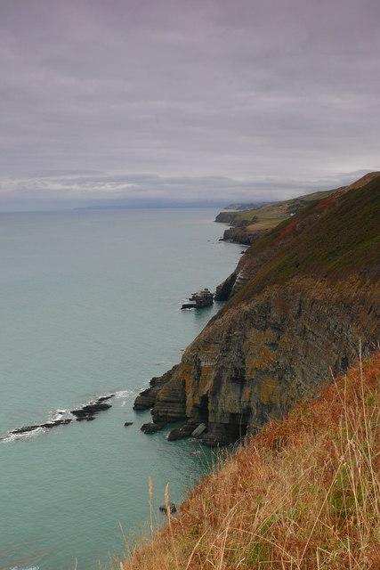 Clogwyni Pen Deri Cliffs