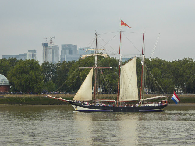 Tall Ships at Greenwich, London