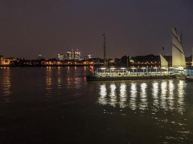 Tall Ship at Greenwich, London