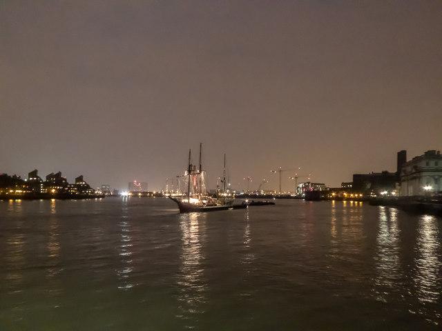 Tall Ships, Greenwich, London