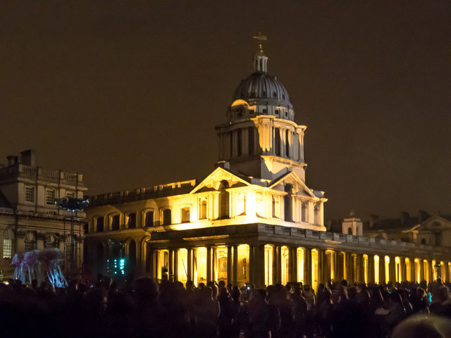 Naval College, Greenwich, London