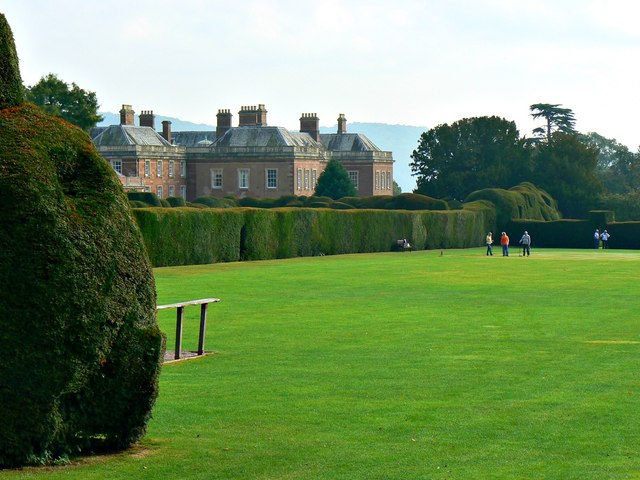 Sports arena, Holme Lacy House, Herefordshire