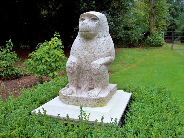 Baboon Statue, Cliveden