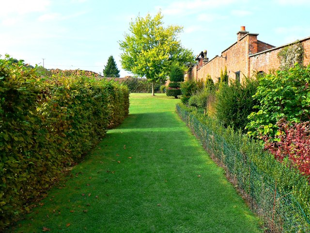 The walled garden, Holme Lacy House, Herefordshire