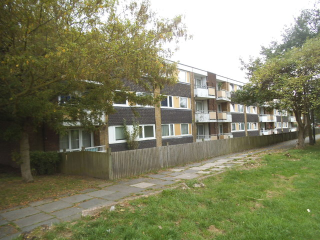 Block of flats by Gladstone Park