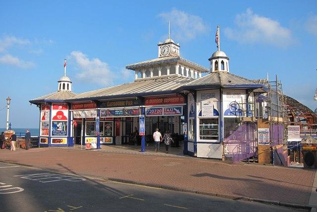 Eastbourne Pier entrance
