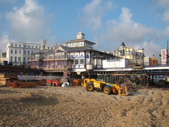 Eastbourne Pier repairs