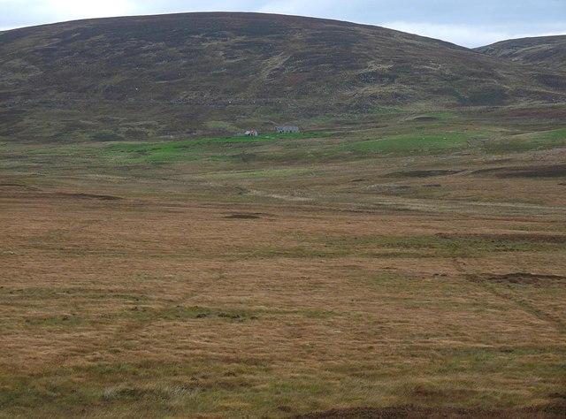 Drainage channels, Cnoc Achadh na Teanga, Sutherland
