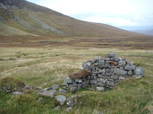 Ruin in An Lairig