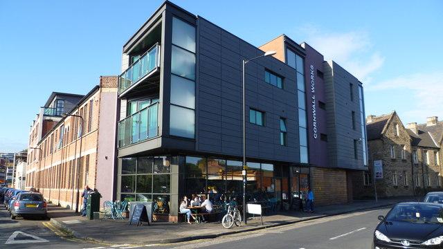 The Grind coffee shop & cafe, Kelham Island, Sheffield