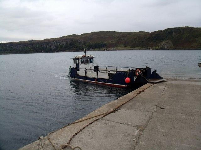Isle of Kerrera ferry
