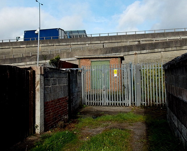 Pant Road electricity substation, Newport
