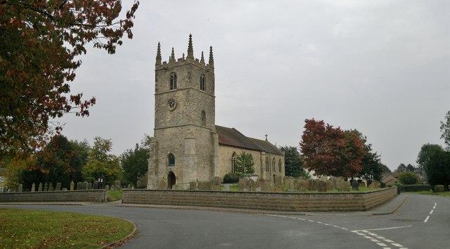 St Germain's parish church, Scothern