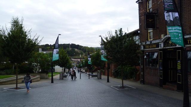 Street scene in Sheffield