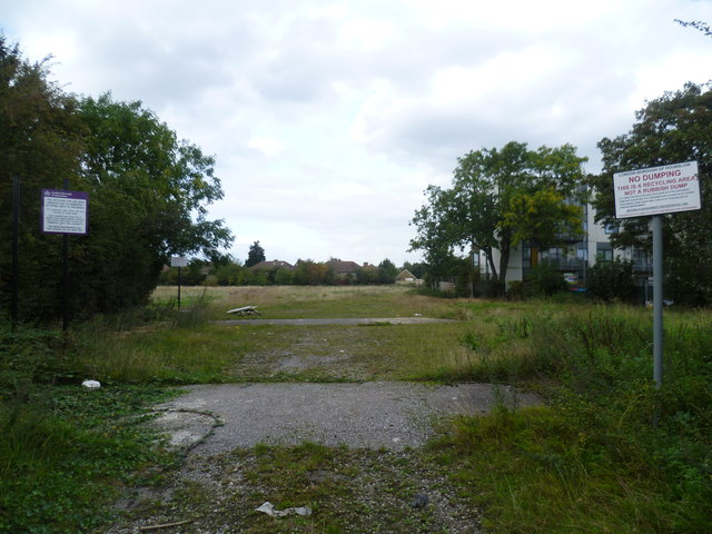 Former recycling site in Heston