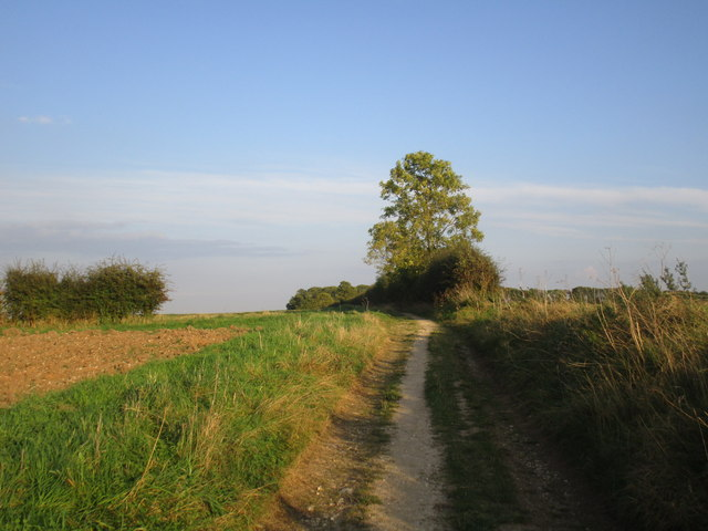 Bridleway near Wauldby Manor Farm