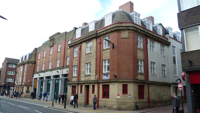 Old Fire Station on Division Street, Sheffield