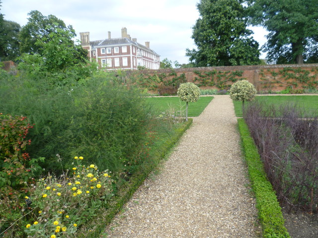 The Kitchen Garden and Ham House