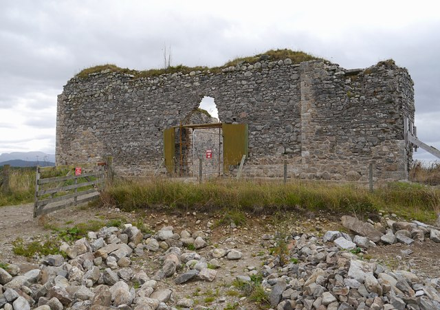 Castle Roy consolidation work