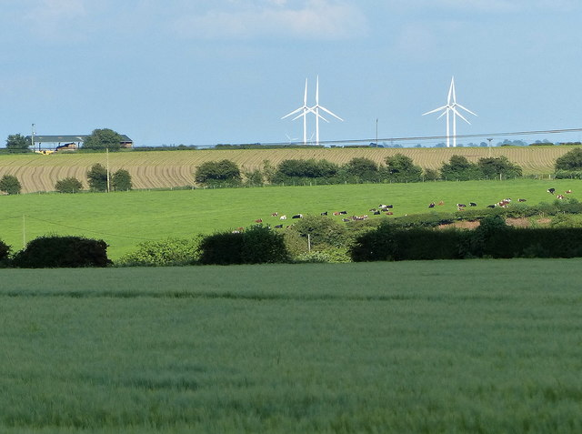 Farmland south of Smockington